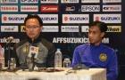 HLV Malaysia bóng gió trọng tài xử ép đội nhà