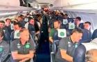 Messi từng ngồi trên máy bay gặp nạn tại Colombia
