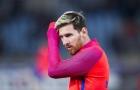 Messi không tập luyện, báo động cho Siêu kinh điển