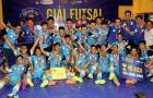 9 câu lạc bộ xuất sắc tham dự giải Futsal Cúp Quốc gia 2016