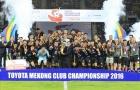 Đội bóng Thái Lan vô địch Mekong Club Championship 2016