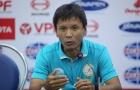 HLV trưởng Sanna Khánh Hòa phàn nàn về công tác trọng tài