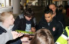 Falcao được fan M.U chào đón ngày trở lại Manchester
