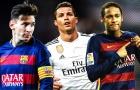 Ronaldo đánh giá Messi thấp hơn Neymar