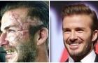 Beckham tạo hình xấu xí khi đóng phim