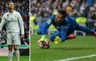 "Ronaldo tiếp tục gặp ""ác mộng"" Diego Alves"