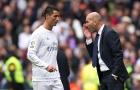 Zidane thừa nhận ghen tỵ với Ronaldo
