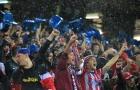 Vì sao CĐV Atletico tháo ghế mang về nhà?