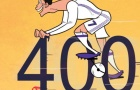 Biếm họa Ronaldo đạp xe lập kỷ lục ở Real