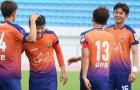 Xuân Trường thi đấu 45 phút, Gangwon bị loại bởi đội hạng dưới