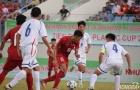 HLV Vũ Hồng Việt ngao ngán với khả năng dứt điểm của U15 Việt Nam