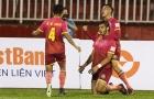 Cầm chân nhau tại Hàng Đẫy, Sài Gòn và Hà Nội tụt lại trong cuộc đua vô địch