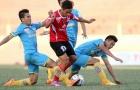 Dẫn trước 2 bàn, Long An vẫn không thể thắng Sanna Khánh Hòa