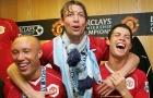 Pique và những ngôi sao sát cánh cùng cả Ronaldo và Messi