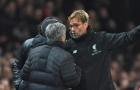 Klopp: 'Thà 125 năm không vô địch còn hơn đá như Mourinho'