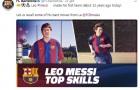Barcelona kỷ niệm 13 năm ra mắt Lionel Messi