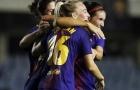 Đối mặt khung thành trống, 3 nữ cầu thủ không thể sút tung lưới Barca