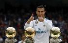 Ronaldo và cuộc đua ghi bàn nhiều nhất năm 2017