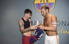 Totti: 'Đừng cho Ronaldo biết chuyện tôi bảo Messi là số một'