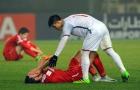 Cầu thủ U23 Syria bật khóc sau trận hòa U23 Việt Nam
