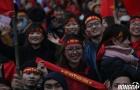 Vạn trái tim háo hức đón chờ những người hùng U23 Việt Nam hàng giờ trên sân Mỹ Đình