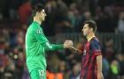 Messi với 'lời nguyền' 5 năm trước Courtois