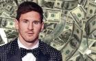 Messi bỏ rất xa Ronaldo ở khoản thu nhập cá nhân