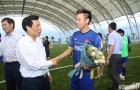 Bộ trưởng Bộ VHTTDL Nguyễn Ngọc Thiện thăm hỏi động viên ĐT U23 Việt Nam