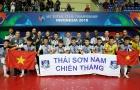 CLB Thái Sơn Nam rạng ngời nhận danh hiệu á quân futsal châu Á 2018