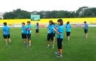 Tuyển nữ Việt Nam đấu với Thái Lan trên sân chất lượng không cao