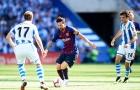 Messi 'tịt ngòi', Barca thắng hú vía trước Sociedad