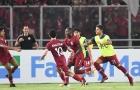 U19 châu Á 2018: U19 Indonesia thua U19 Qatar sau trận cầu điên rồ với 11 bàn thắng