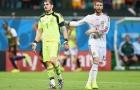 Ramos 'phũ phàng' với Casillas