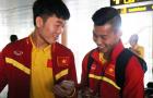 Tuyển Việt Nam chia 2 nhóm bay về TP.HCM