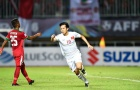 Văn Quyết lép vế trước các cầu thủ Indonesia