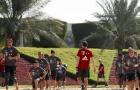 Bayern kết thúc kỳ huấn luyện trên cát bỏng và dưới nắng cháy ở Doha