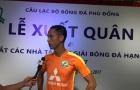Vũ Như Thành tìm lại niềm vui chơi bóng ở đội hạng Nhì