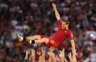 """AS Roma: Hoài niệm sắc áo """"bã trầu"""""""