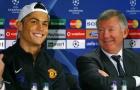 'Tôi chưa bao giờ thấy Sir Alex hét vào mặt Ronaldo'