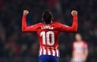 Hoàn tất thỏa thuận cá nhân, số 10 Atletico sắp tìm được bến đỗ mới