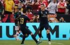 Đây là hành động của Bale sau khi sút tung lưới Arsenal
