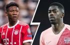 Đổi sao 105 triệu euro để lấy Alaba, Barca chỉ cần 'nắm xôi' từ Bayern?