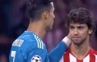 Ronaldo tiến đến Felix, làm điều không ngờ trước trận hòa