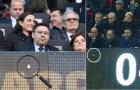 Huy hiệu Real Madrid bất ngờ tìm đến trước ghế chủ tịch Barca