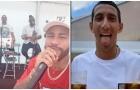 Neymar 'quẩy tung nóc' mừng cú ăn ba quốc nội của PSG