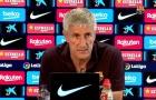 Setien: 'Trận đấu với Napoli vẫn chưa thể chấm dứt triều đại của tôi tại Barca'