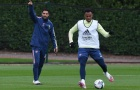 Aubameyang hớn hở bên 'cạ cứng', Arsenal sẵn sàng phục thù Liverpool