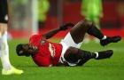 Pogba dính chấn thương nghiêm trọng, Man Utd lo sốt vó