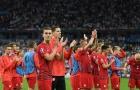 Cầm hòa được Đức, các tuyển thủ Ba Lan vỗ tay ăn mừng