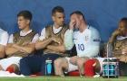 Đạt cột mốc mới, Rooney vẫn rơi lệ vì tuyển Anh bị loại